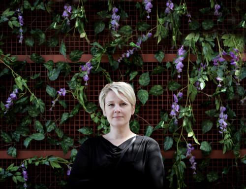Esittelyssä ravintolatoimenjohtaja Katriina Lehtonen